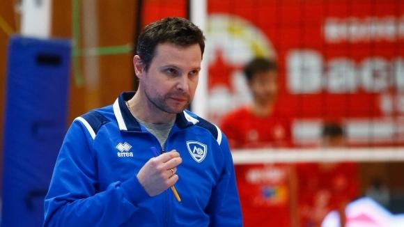 Волейболистите на Левски София записаха осма победа в Първа осмица
