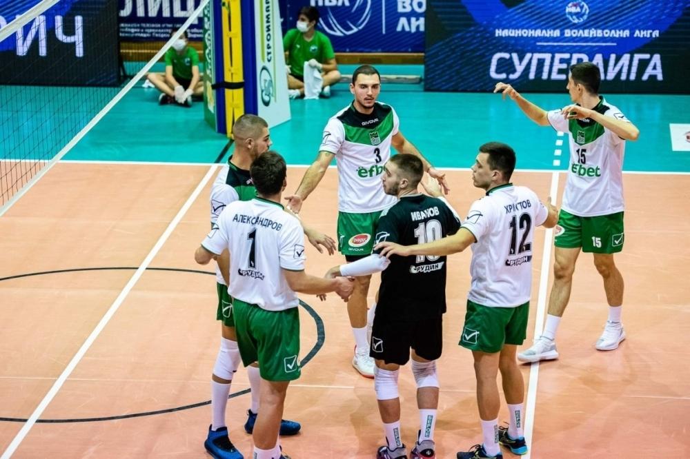 Волейболистите на Берое 2016 (Стара Загора) победиха като домакини Черно