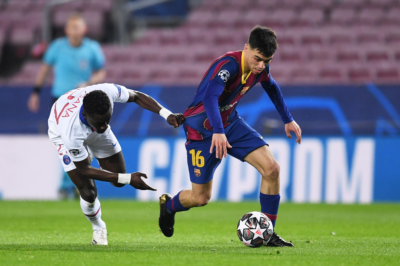 Наложилият се като титуляр в състава на Барселона тийнейджър Педри