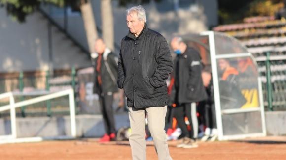 Старши треньорът на Благой Кръстанов коментира победата на своя тим