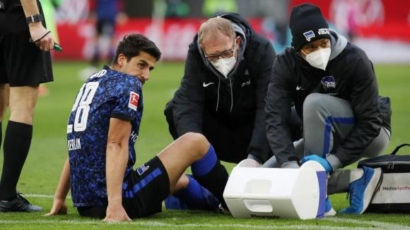 Трима футболисти на Херта са с контузии след загубата от