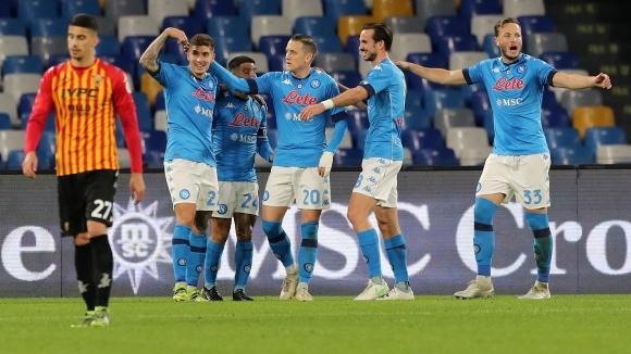 Отборът на Наполи постигна безпроблемна победа с 2:0 при домакинството