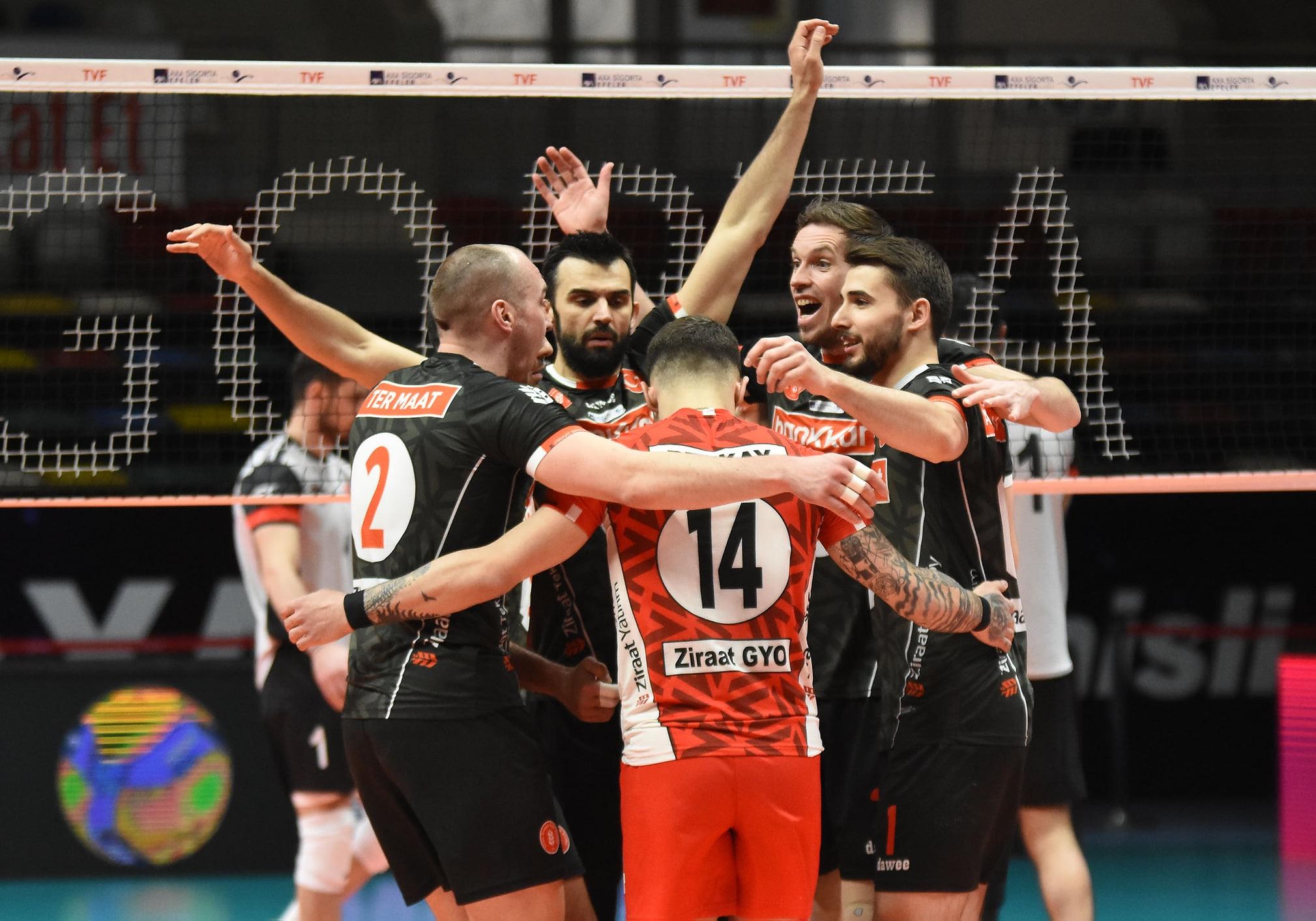 Националът Мартин Атанасов и тимът на Зиратбанк (Анкара) постигнаха 23-а