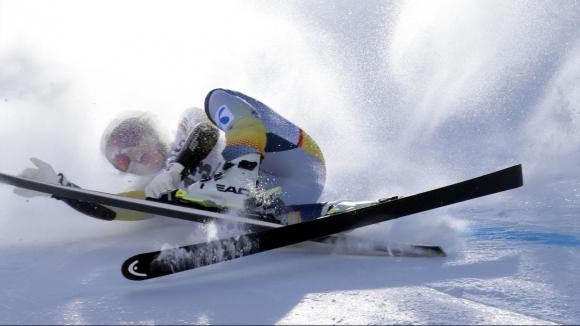 Норвежката състезателка по ски-алпийски дисциплини Кайса Викхоф Лий е с
