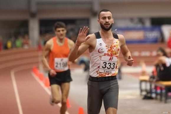 Балканският шампион на 1500 метра в зала за 2021 година