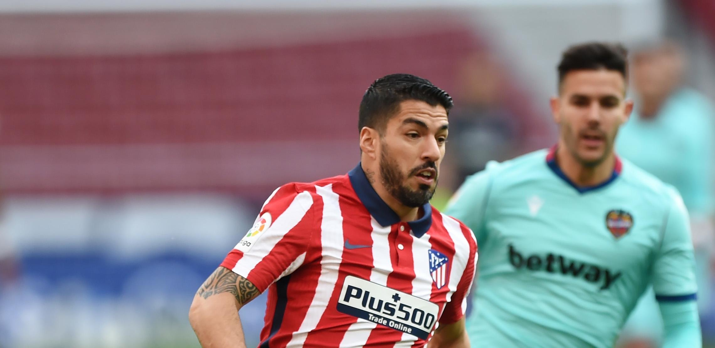 Уругвайската звезда на Атлетико Мадрид Луис Суарес не успя да