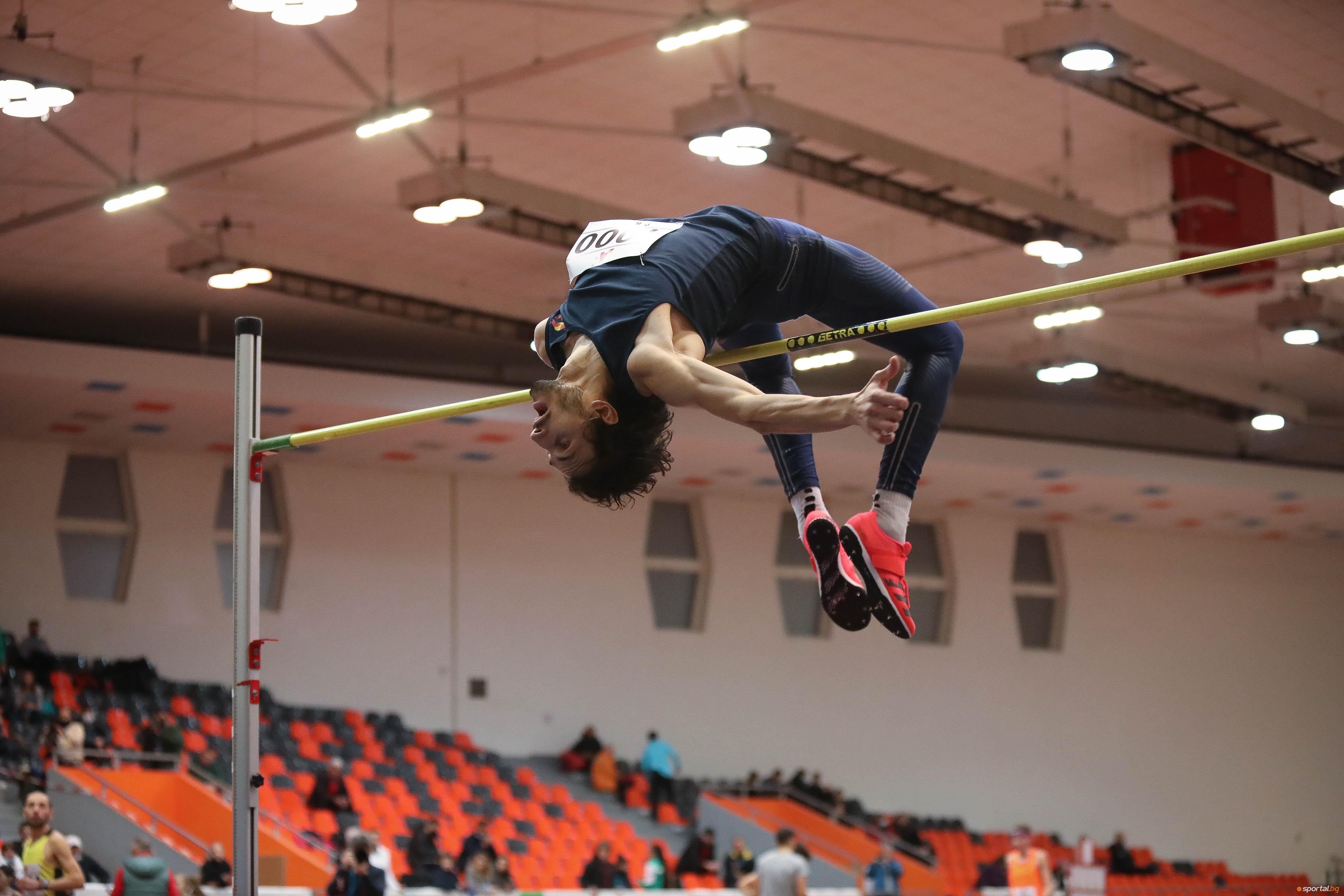 Най-добрият български състезател в скока на височина при мъжете в