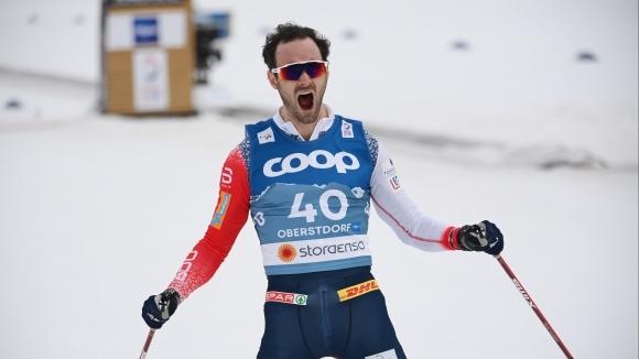 Трима представители на Норвегия спечелиха медалите в интервалния старт на