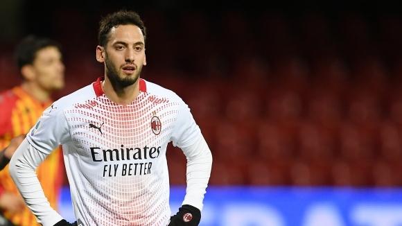 Милан няма да може да разчита на Хакан Чалханоглу в