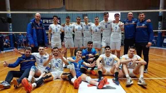 Отборът на Дунав (Русе) разгроми Славия с в мач от