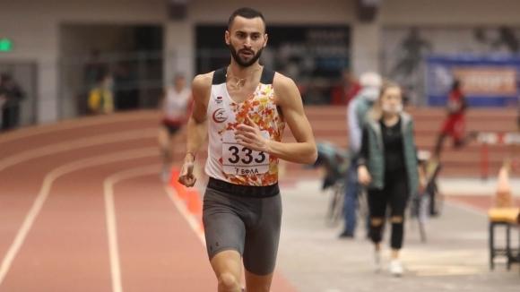Вторият във вечната ранглиста на България в бягането на 1500