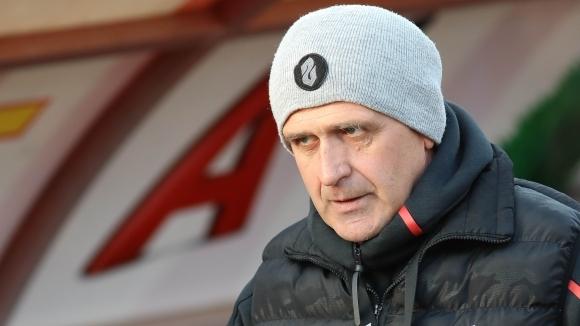Старши треньорът на ЦСКА-София Бруно Акрапович не остана доволен от