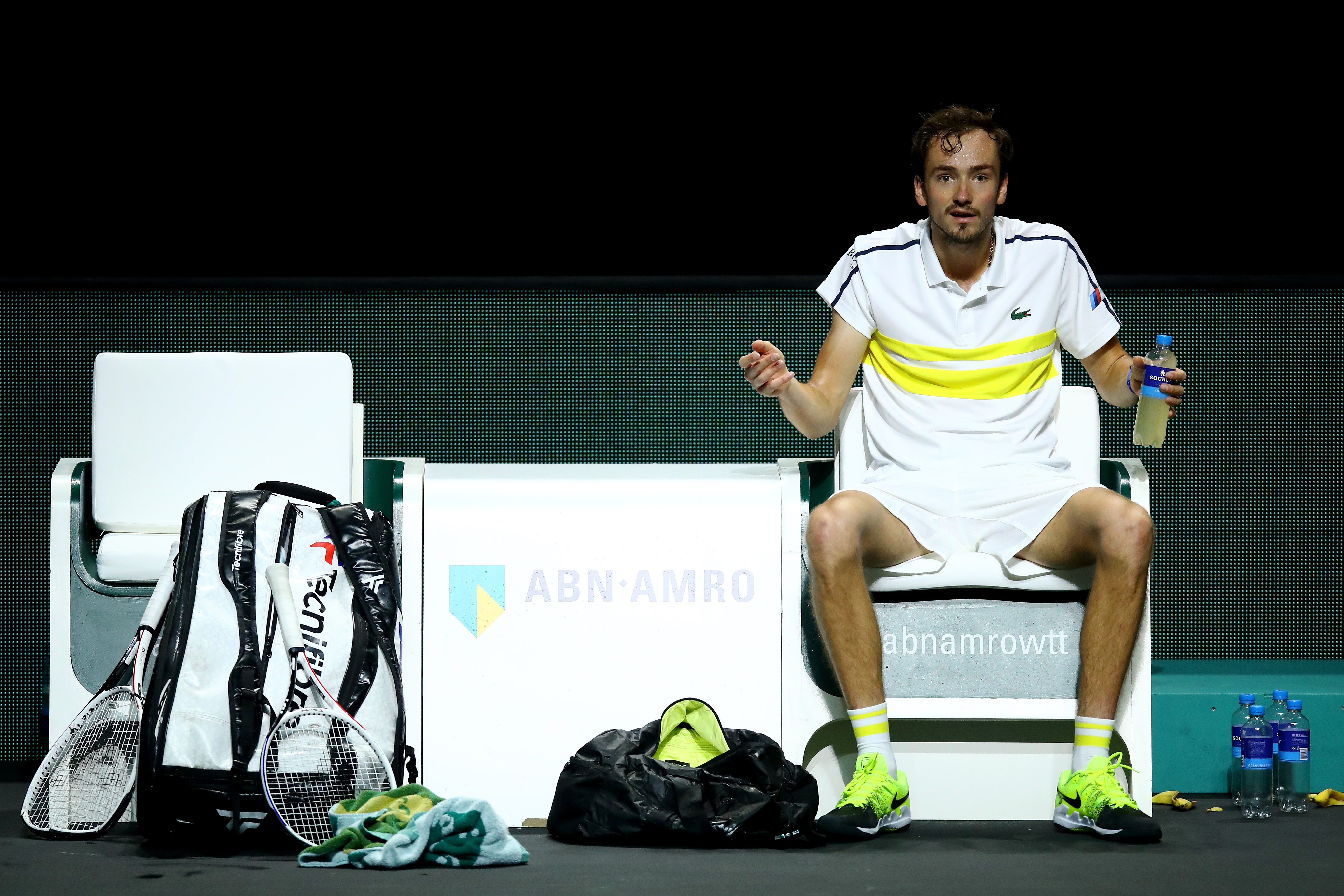 Руската звезда в мъжкия тенис Даниил Медведев е мечтаел да