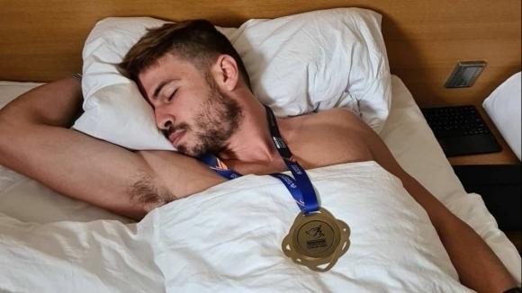 Едва ли има по-щастлив европейски шампион на първенството по лека