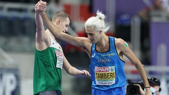 Сребърният медалист в скока на височина от Европейското първенство по