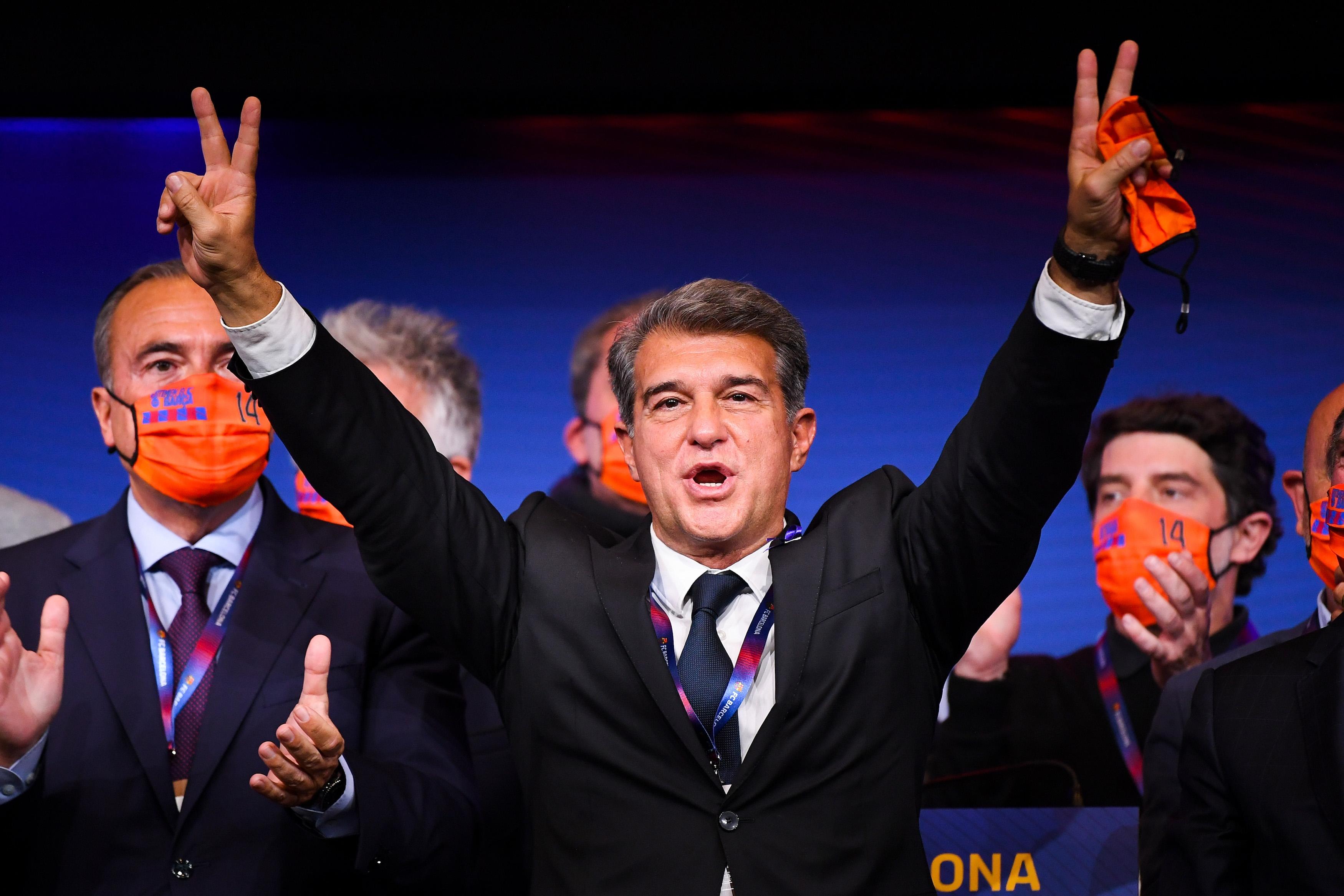 Новият президент на Жоан Лапорта има ясна идея какво ще