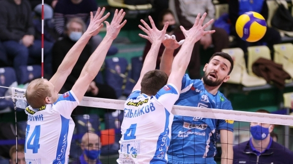 Волейболистите на Динамо (Москва) записаха 24-а победа в Суперлигата на