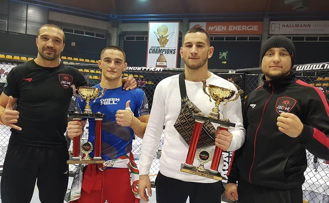 Европейският шампион по ММА, Николай Николов, продължава на следващо ниво