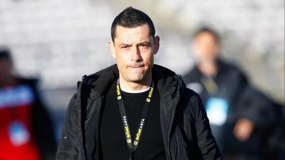 Наставникът на Етър Александър Томаш говори след поражението с 0:1