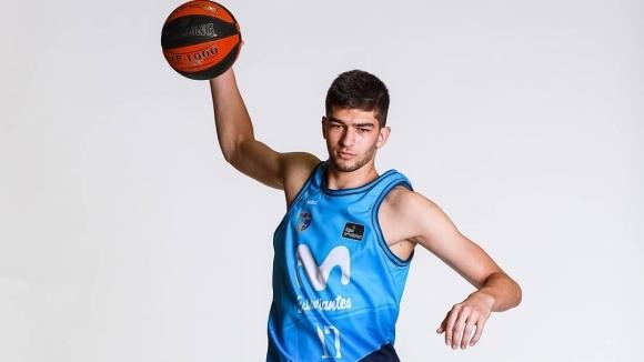 Българският баскетболист Емил Стоилов разтресе коша на Билбао при победата