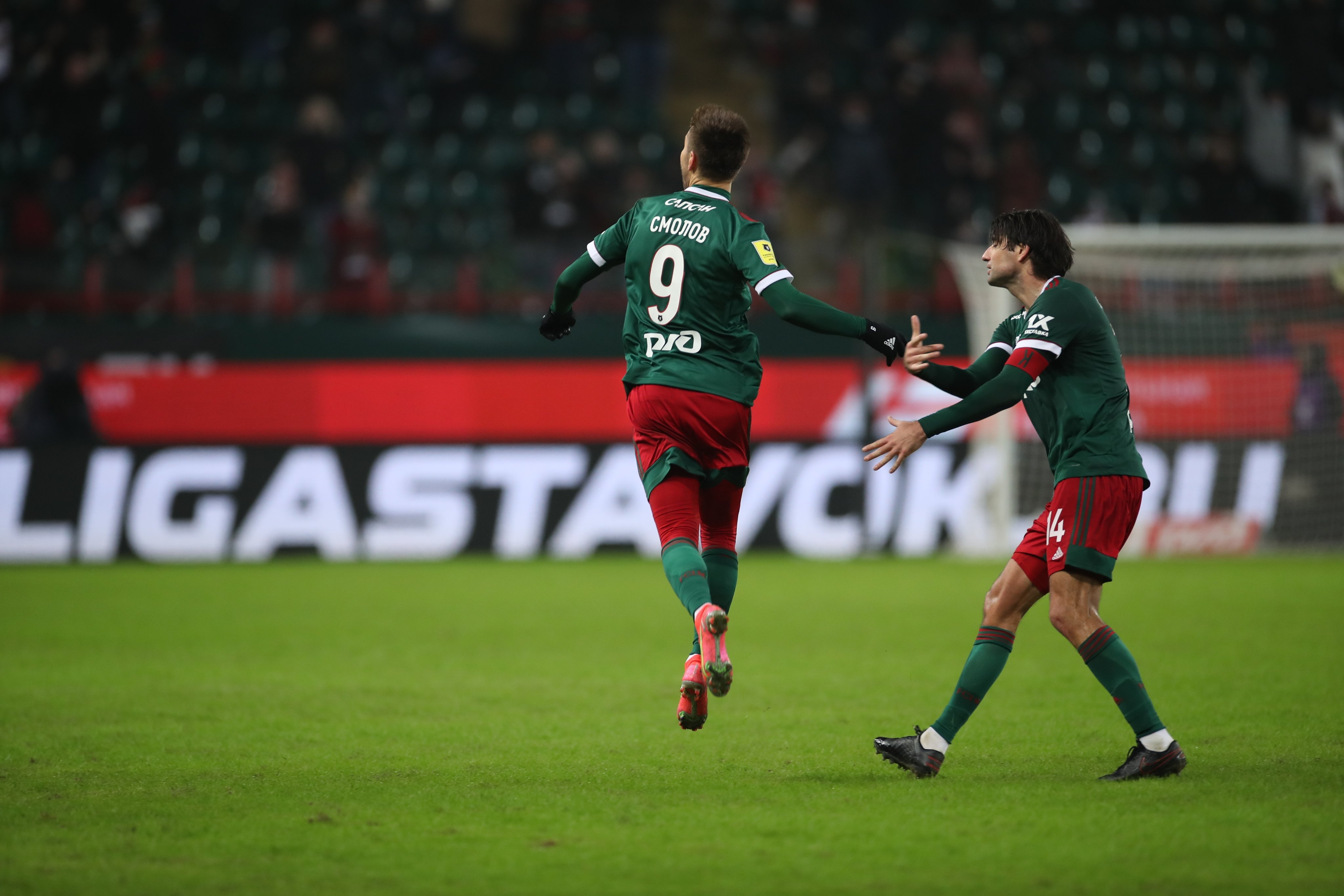 Локомотив (Москва) продължава възхода си от началото на годината.