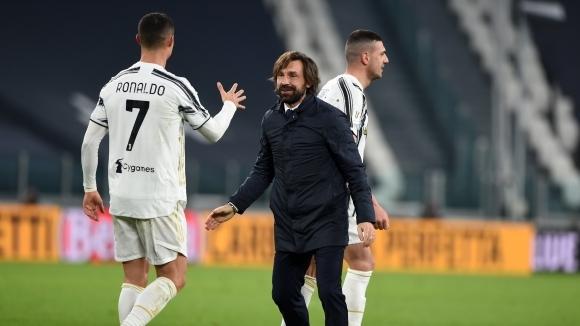 Наставникът на Ювентус Андреа Пирло остана доволен от днешната победа