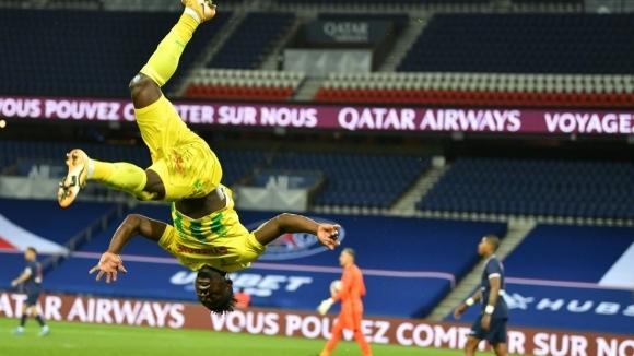 Пари Сен Жермен допусна изненадваща загуба с 1:2 от борещия