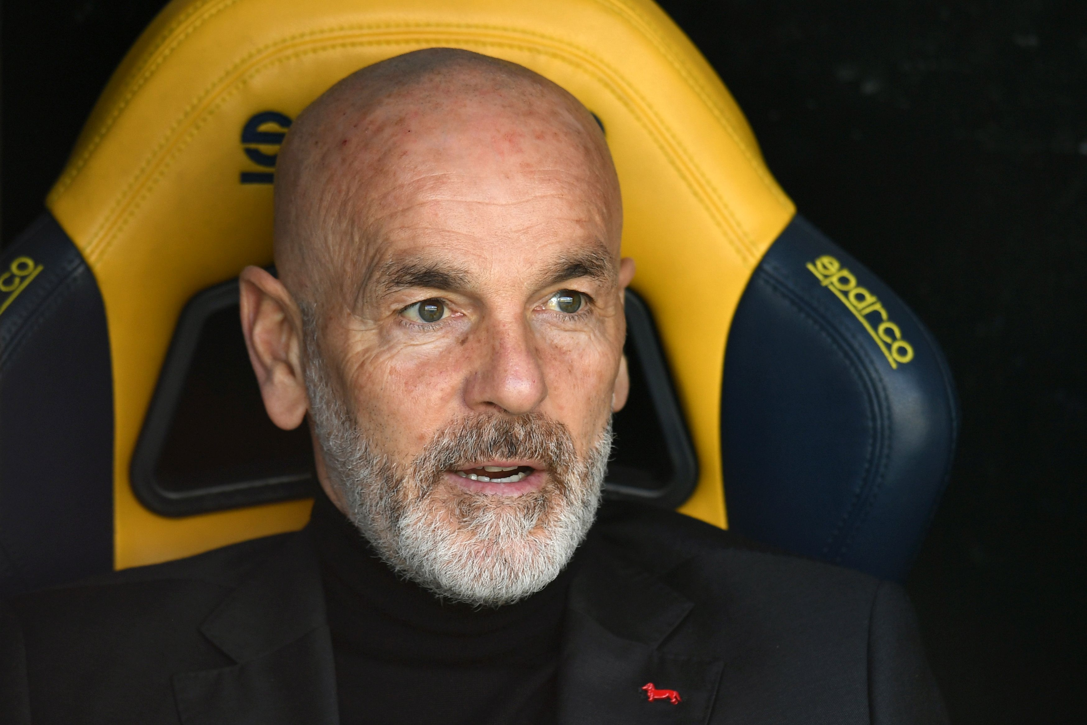 Треньорът на Милан Стефано Пиоли не остана доволен от предстаявнето
