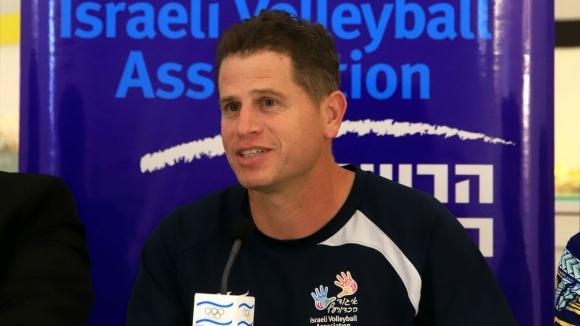 Селекционерът на националния волейболен отбор на Израел Ноам Катц сподели