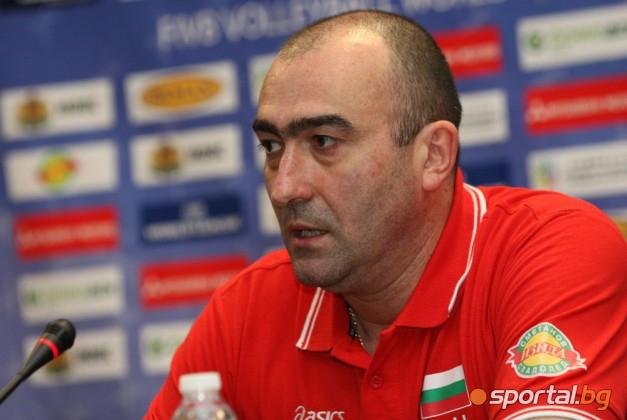 Найден Найденов и останалите треньори от групата на България