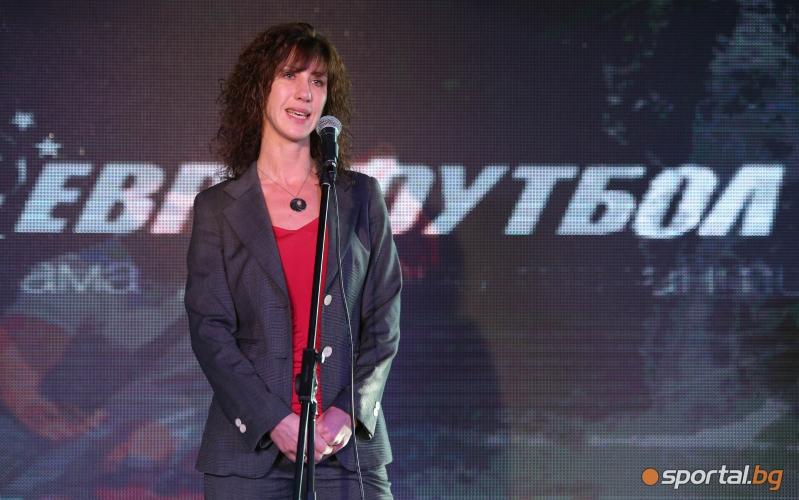 """Екатерина Михайлова, управител на """"Еврофутбол"""""""