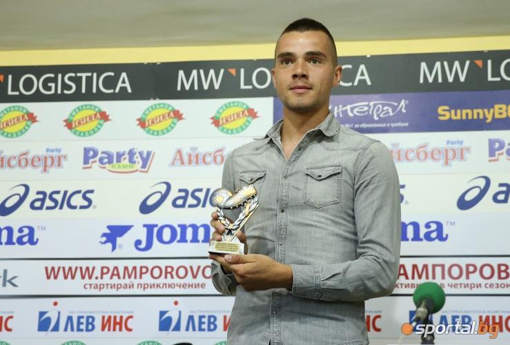 Алекс Колев е играч на IV кръг в анкетата на Пресклуб България