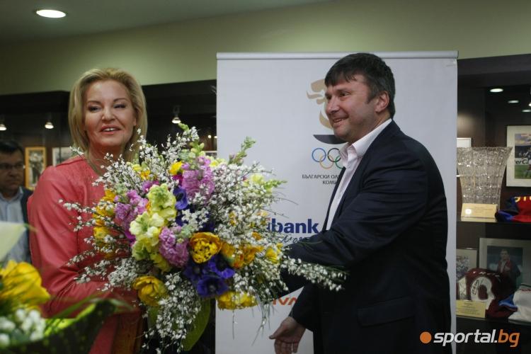 """Представиха книгата """"Да прескочиш света"""" посветена на рекорда на Стефка Костадинова"""