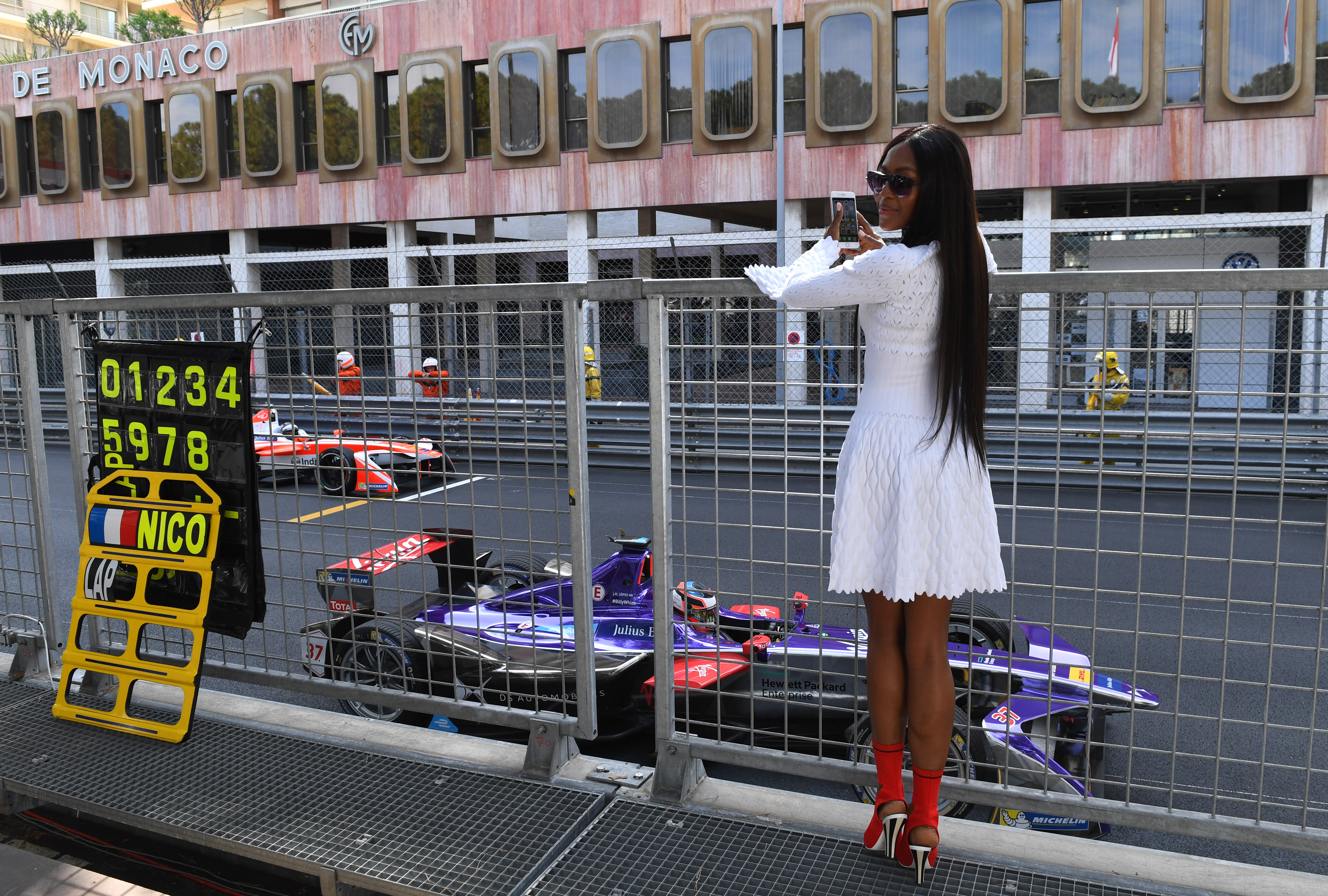 Звездо присъствие на Формула Е в Монако