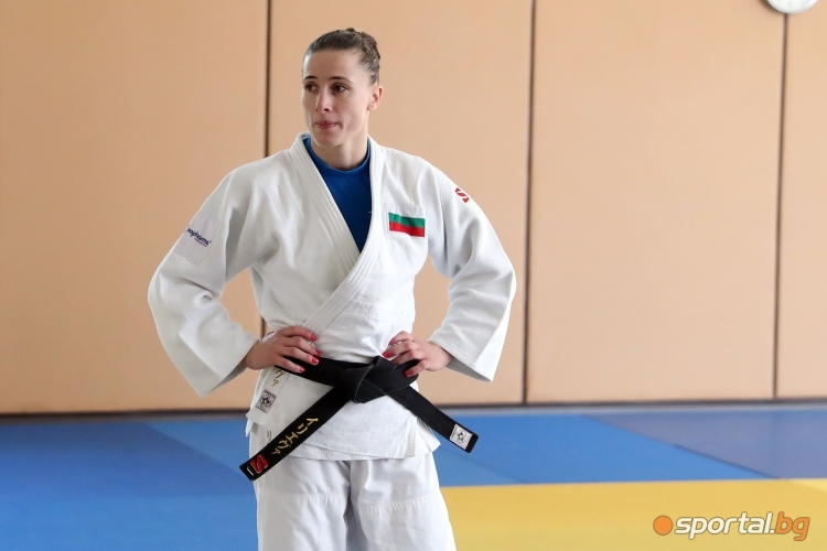 Тренировка по джудо с Ивелина Илиева и Марк Христов