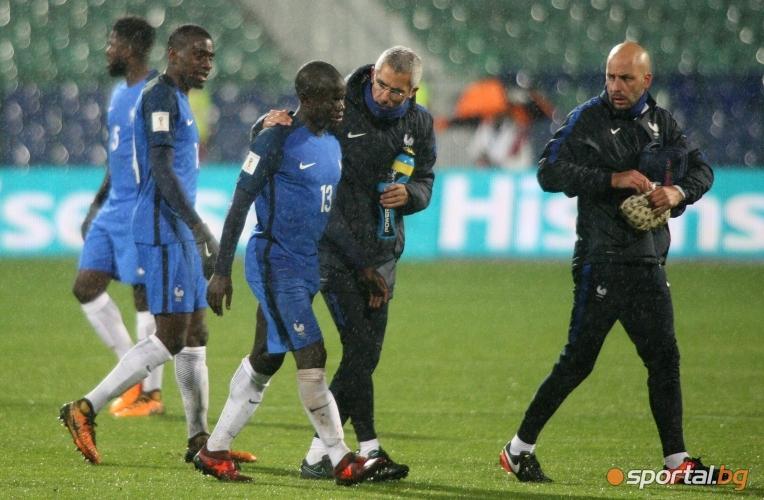България - Франция 0:1