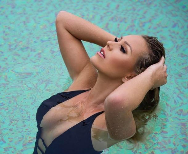 Кейт Райт - новата любов на Рио Фърдинанд