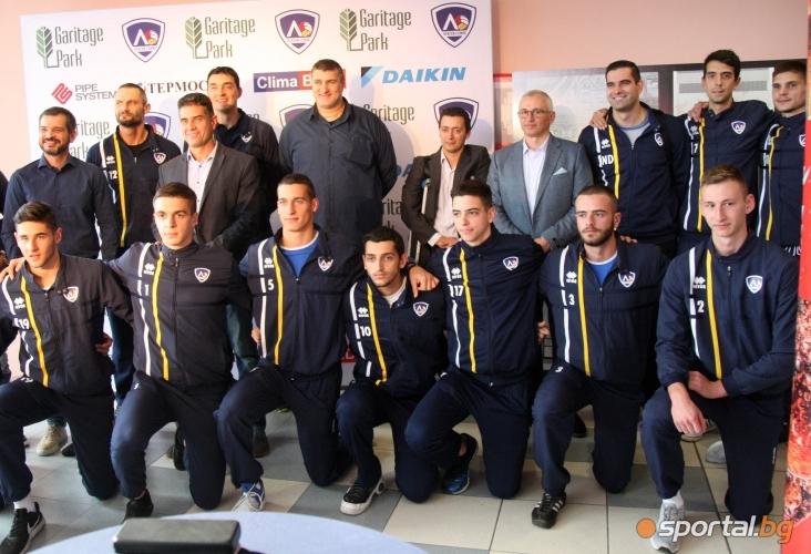 Официално представяне на бъдещата спортна зала на волейболен клуб Левски