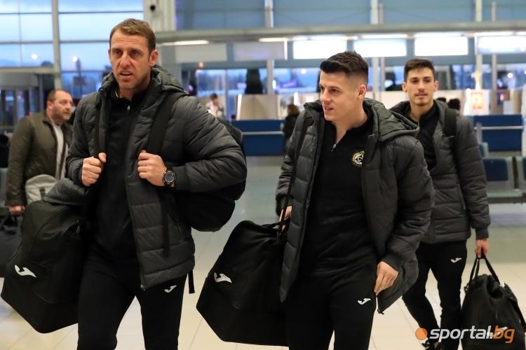 Отборът на Славия замина за Турция