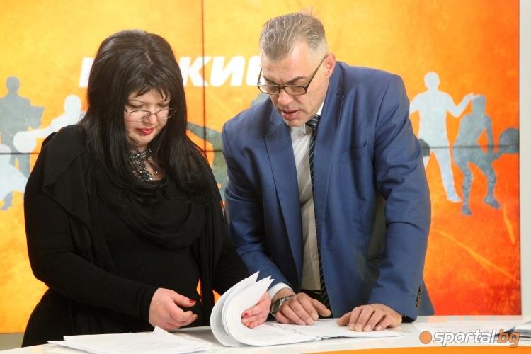 Шоуменът и президент на Локомотив Дряново Теди Джорджо гост в студиото на Sportal.bg