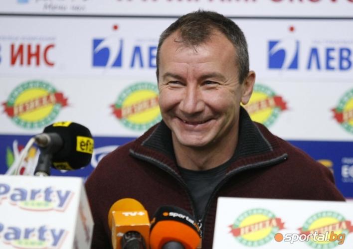Стамен Белчев - треньор на месеца