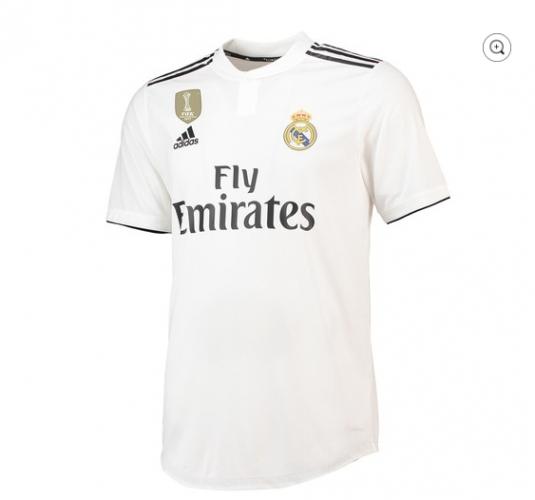 Титулярният екип на Реал Мадрид за 2018/19