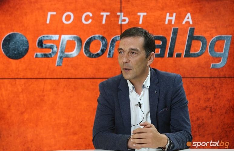 """Ангел Петричев е """"Гостът на Sportal.bg"""""""