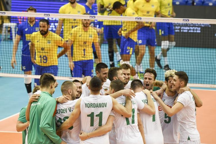 България - Бразилия 3:2