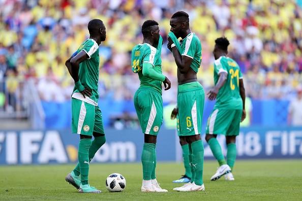 Сенегал - Колумбия