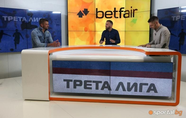 """Валентин Илиев гостува в """"Часът на Трета лига"""""""