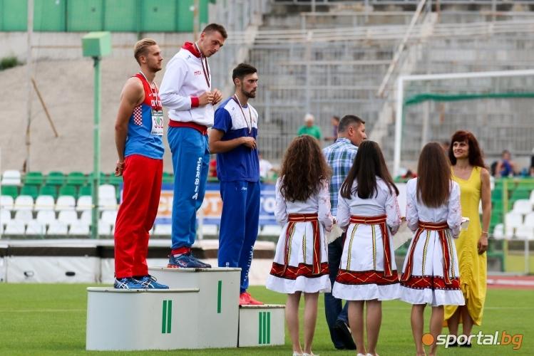Балканиадата по лека атлетика