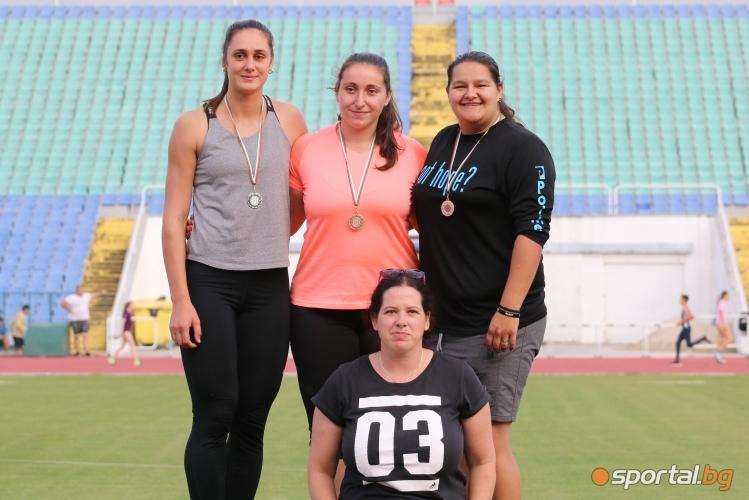 Национален шампионат по лека атлетика за мъже и жени, момчета и момичета под 16 г. - първи ден