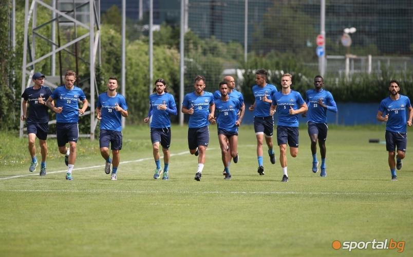 Славиша Стоянович изведе за първа тренировка футболистите на Левски