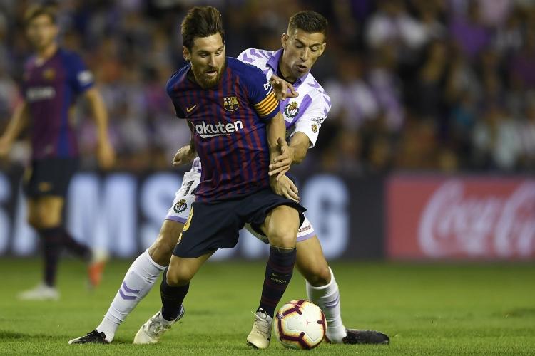 Валядолид - Барселона 0:1